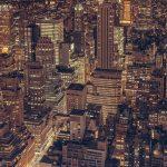 大都市の夜景