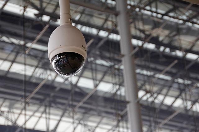 最新式のセキュリティカメラ